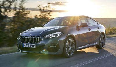 BMW Serie 2 Grand Coupé 2020, trazione anteriore e nuovo stile