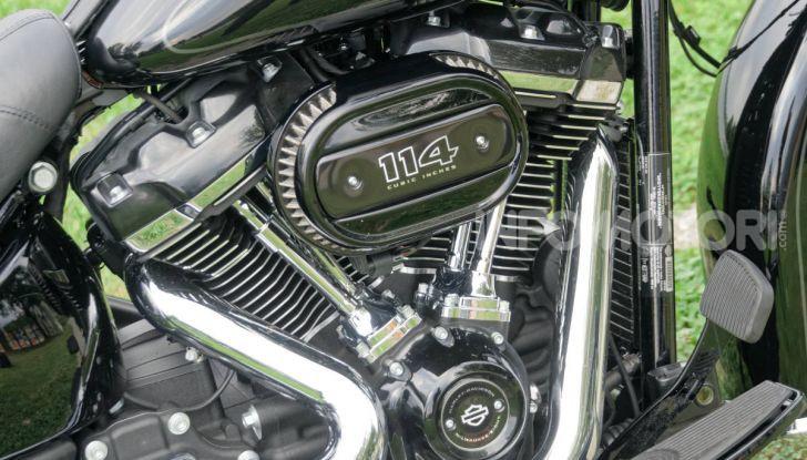 Prova Harley-Davidson Heritage Classic 114, la softail touring? - Foto 5 di 54