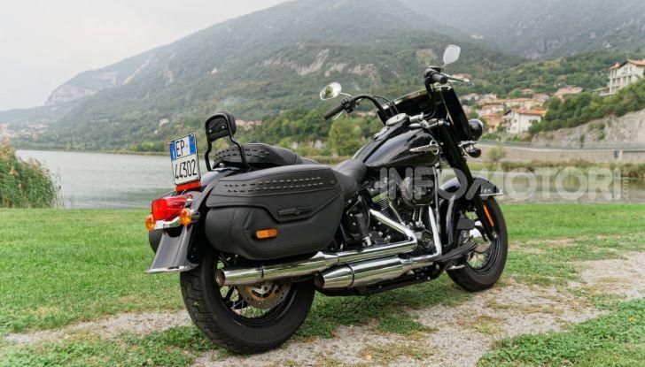 Prova Harley-Davidson Heritage Classic 114, la softail touring? - Foto 7 di 54