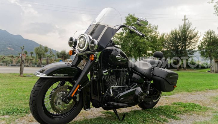 Prova Harley-Davidson Heritage Classic 114, la softail touring? - Foto 18 di 54