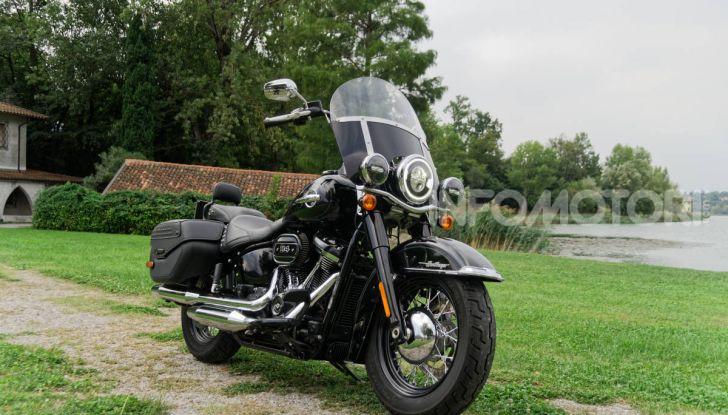 Prova Harley-Davidson Heritage Classic 114, la softail touring? - Foto 22 di 54