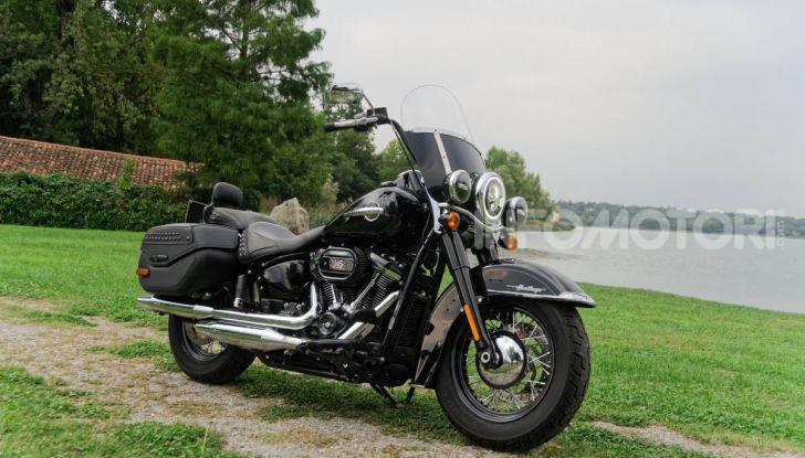 Prova Harley-Davidson Heritage Classic 114, la softail touring? - Foto 23 di 54