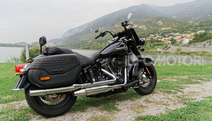 Prova Harley-Davidson Heritage Classic 114, la softail touring? - Foto 34 di 54