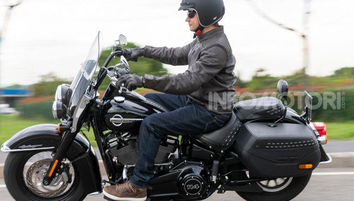 Prova Harley-Davidson Heritage Classic 114, la softail touring? - Foto 42 di 54