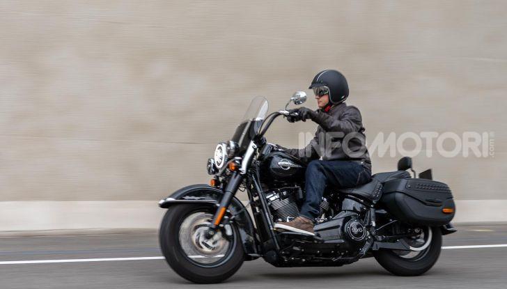 Prova Harley-Davidson Heritage Classic 114, la softail touring? - Foto 44 di 54