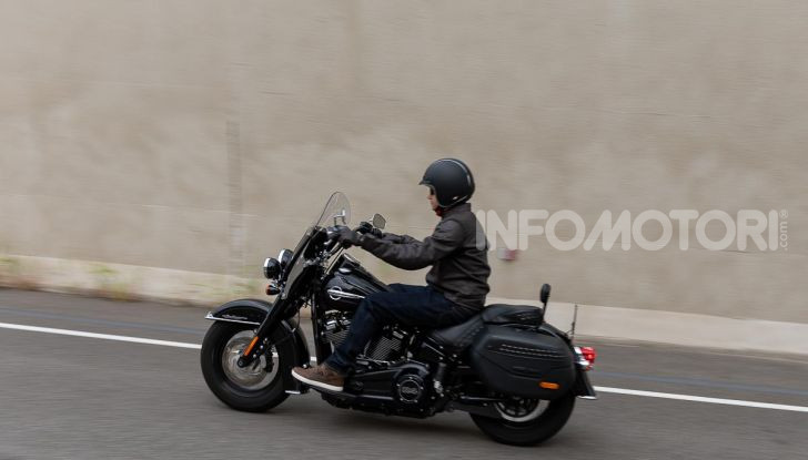 Prova Harley-Davidson Heritage Classic 114, la softail touring? - Foto 45 di 54