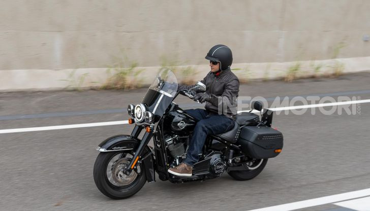 Prova Harley-Davidson Heritage Classic 114, la softail touring? - Foto 49 di 54