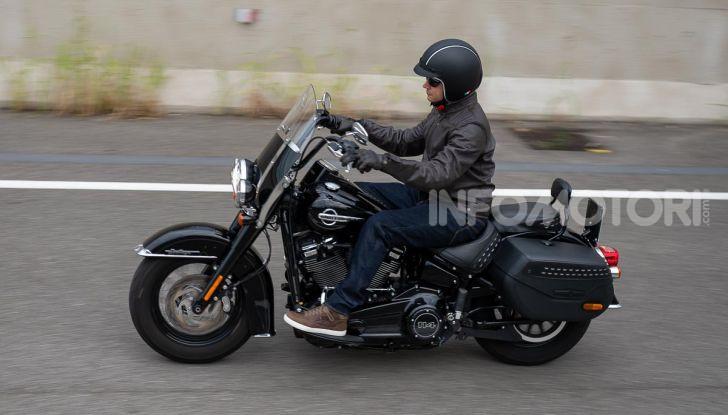 Prova Harley-Davidson Heritage Classic 114, la softail touring? - Foto 54 di 54