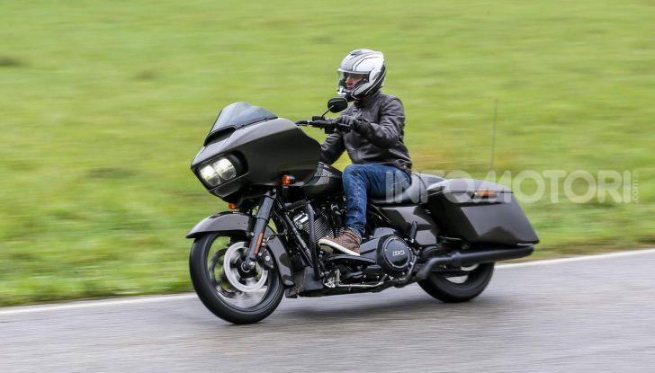 Prova gamma Touring 2020 Harley-Davidson: tecnologia e tradizione! - Foto 8 di 84