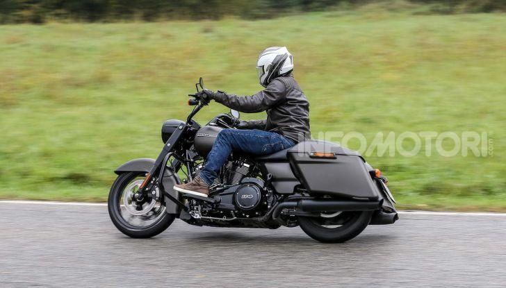 Prova gamma Touring 2020 Harley-Davidson: tecnologia e tradizione! - Foto 13 di 84