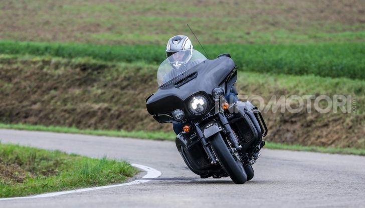 Prova gamma Touring 2020 Harley-Davidson: tecnologia e tradizione! - Foto 18 di 84