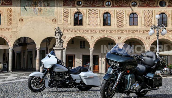 Prova gamma Touring 2020 Harley-Davidson: tecnologia e tradizione! - Foto 23 di 84