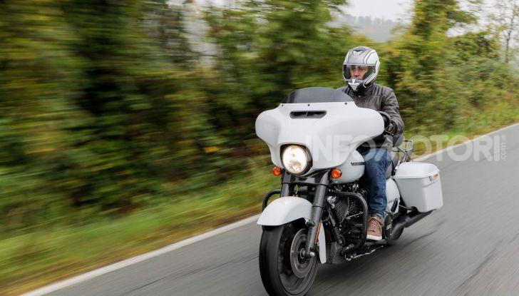Prova gamma Touring 2020 Harley-Davidson: tecnologia e tradizione! - Foto 29 di 84