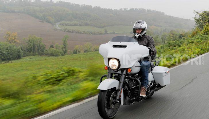 Prova gamma Touring 2020 Harley-Davidson: tecnologia e tradizione! - Foto 30 di 84