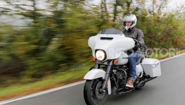 Prova gamma Touring 2020 Harley-Davidson: tecnologia e tradizione! - Foto 33 di 84