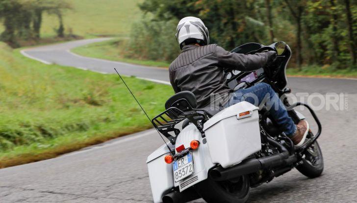 Prova gamma Touring 2020 Harley-Davidson: tecnologia e tradizione! - Foto 38 di 84