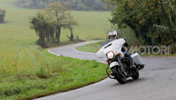 Prova gamma Touring 2020 Harley-Davidson: tecnologia e tradizione! - Foto 41 di 84