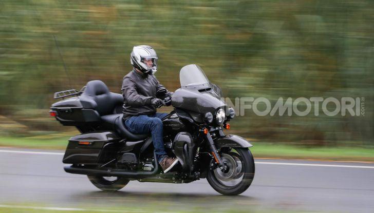 Prova gamma Touring 2020 Harley-Davidson: tecnologia e tradizione! - Foto 46 di 84
