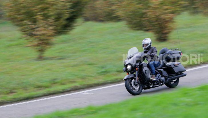 Prova gamma Touring 2020 Harley-Davidson: tecnologia e tradizione! - Foto 56 di 84