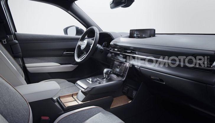 Mazda MX-30: l'auto elettrica con materiali ecologici - Foto 3 di 8