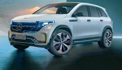 Mercedes EQB: ecco il SUV compatto e 100% elettrico