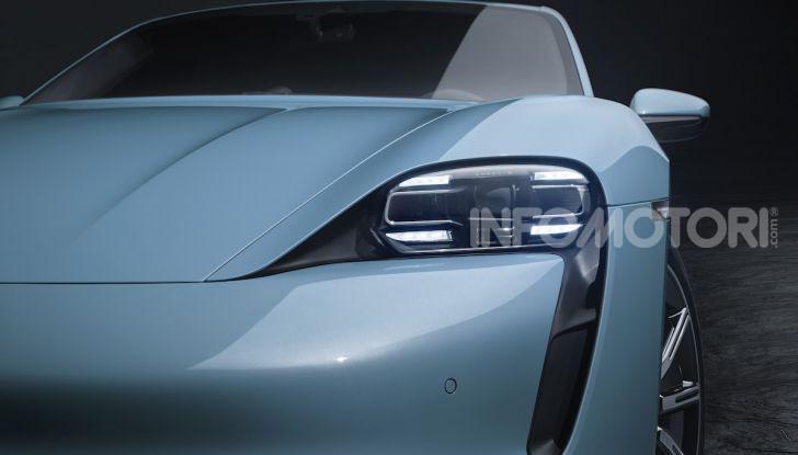 Porsche Taycan 4S, con la Performance Plus si arriva a 571CV - Foto 2 di 10
