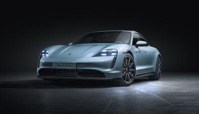 Porsche Taycan 4S, con la Performance Plus si arriva a 571CV