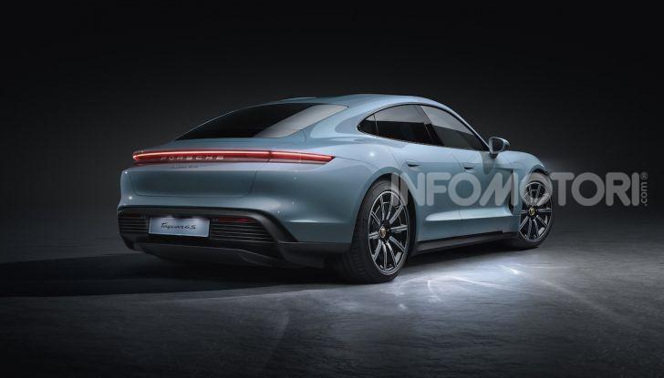 Porsche Taycan 4S, con la Performance Plus si arriva a 571CV - Foto 5 di 10