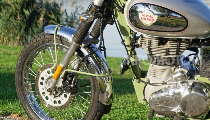 Prova Royal Enfield Bullet Trials 500, voglia d'avventura per la moto più longeva al mondo! - Foto 34 di 53