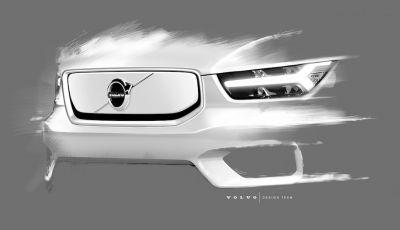 Volvo XC40: il SUV a batterie avrà un design rivoluzionario