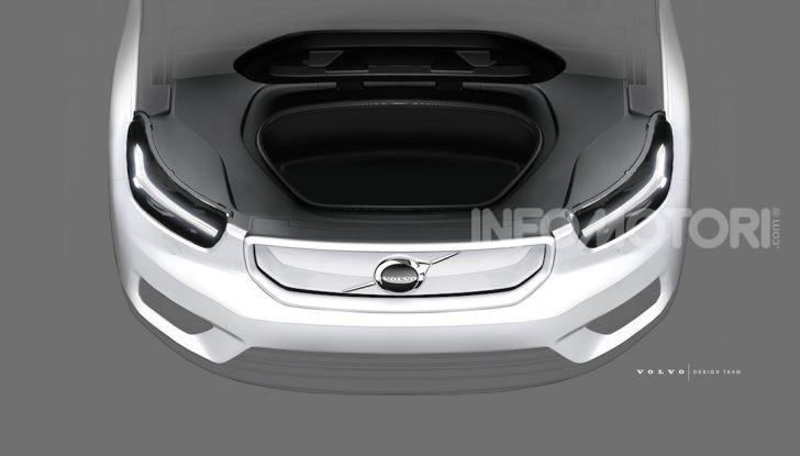Volvo XC40: il SUV a batterie avrà un design rivoluzionario - Foto 3 di 5