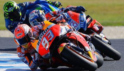 MotoGP 2019, GP d'Australia: gli orari TV Sky e TV8 di Phillip Island