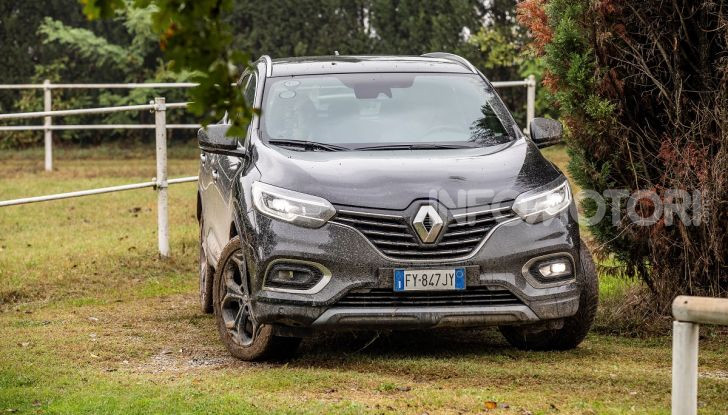 Renault Kadjar 4x4 Black Edition, vista frontale