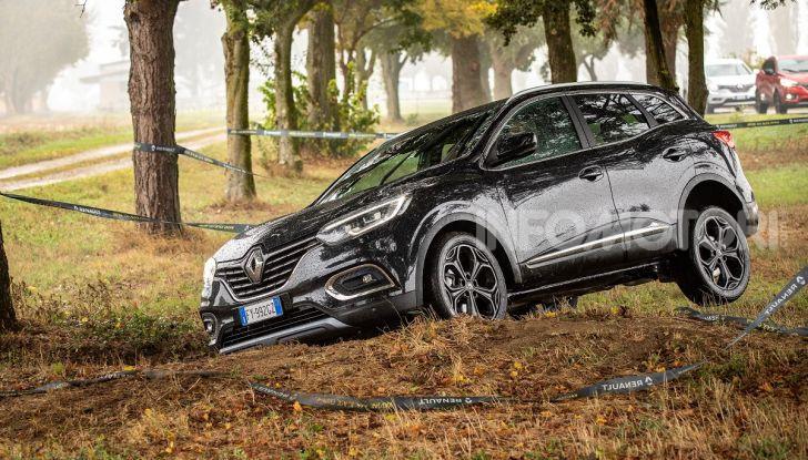 Renault Kadjar 4x4 Black Edition, scarsa aderenza
