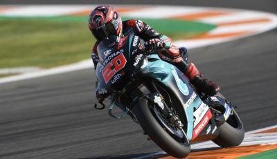 MotoGP 2019, GP di Valencia: Quartararo al comando delle libere davanti a Vinales e Marquez