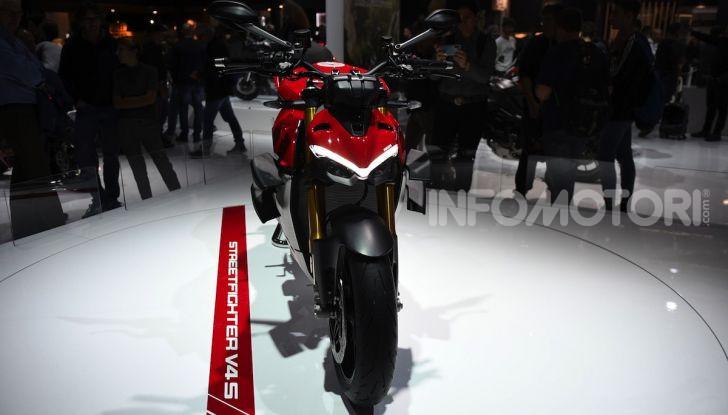 Ducati Streetfighter V4 e V4S: le super-naked da 208 cavalli in stile Panigale - Foto 13 di 40