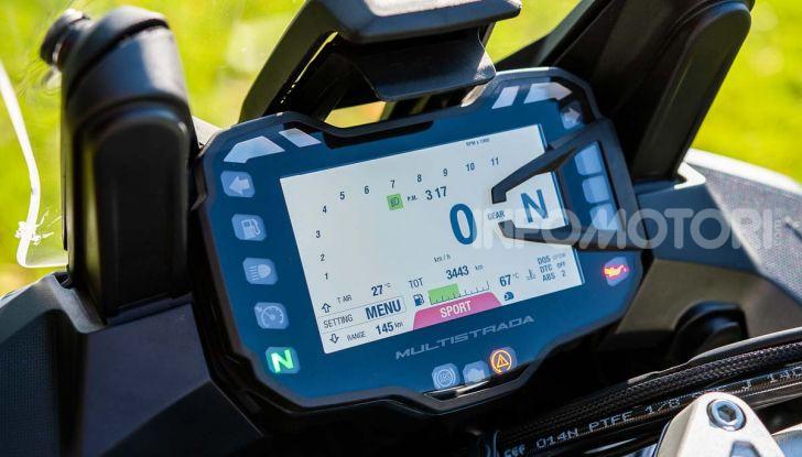 """Prova video Ducati Multistrada 950 S, la miglior """"Multi"""" di sempre? - Foto 23 di 37"""