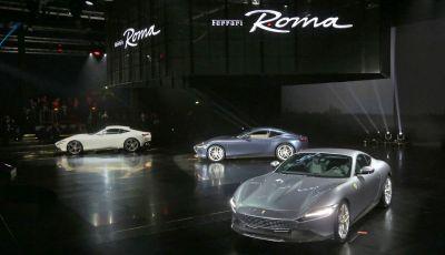 Video anteprima Ferrari Roma, la nuova dolce vita su ruote