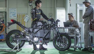 Kawasaki sempre più verde: arriva la prima moto elettirica di Akashi