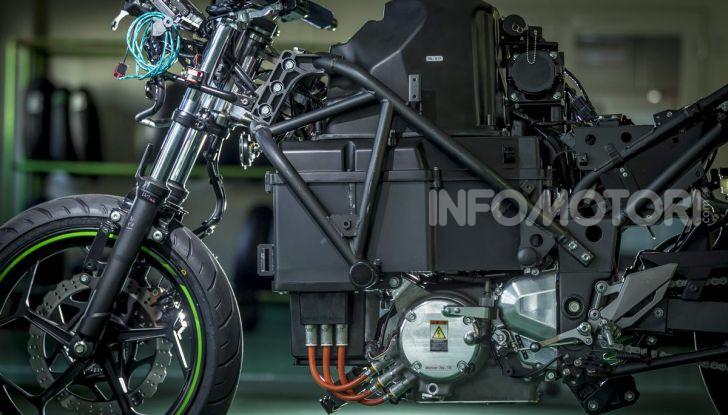Kawasaki accelera verso la produzione della prima moto elettrica - Foto 4 di 11