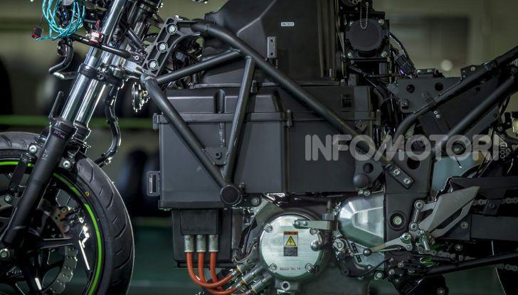 Kawasaki accelera verso la produzione della prima moto elettrica - Foto 5 di 11