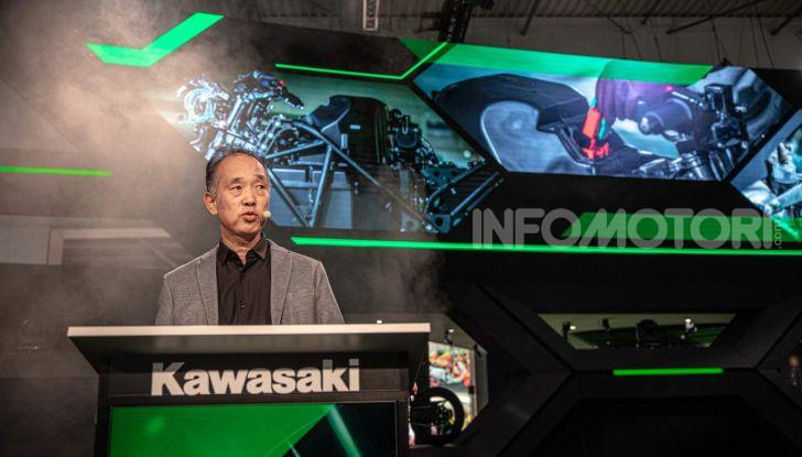 Kawasaki accelera verso la produzione della prima moto elettrica - Foto 11 di 11