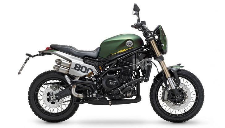 Benelli Leoncino 800 Trail: il bicilindrico da fuoristrada aumenta di cilindrata - Foto 2 di 3