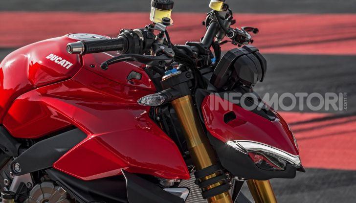 Ducati Streetfighter V4 e V4S: le super-naked da 208 cavalli in stile Panigale - Foto 26 di 40