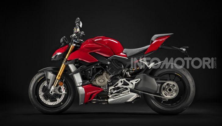Ducati Streetfighter V4 e V4S: le super-naked da 208 cavalli in stile Panigale - Foto 38 di 40