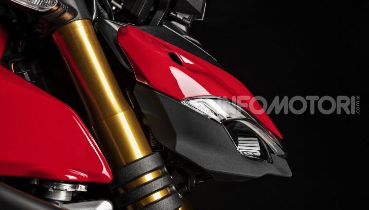 Ducati Streetfighter V4 e V4S: le super-naked da 208 cavalli in stile Panigale - Foto 29 di 40