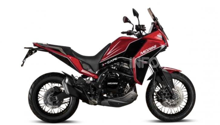 Moto Morini Seiemmezzo, Super Scrambler e X-Cape a EICMA 2019 - Foto 1 di 14