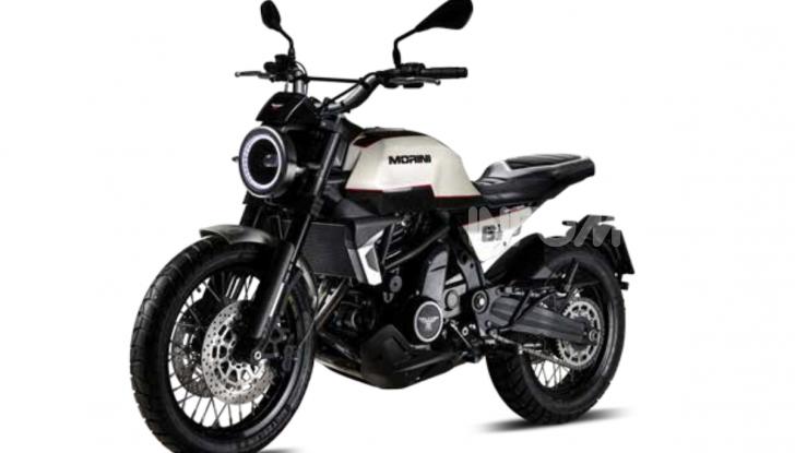 Moto Morini Seiemmezzo, Super Scrambler e X-Cape a EICMA 2019 - Foto 14 di 14