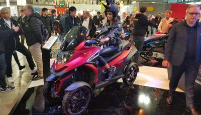 [VIDEO] Quadro diventa Qooder: il re degli scooter elettrici ad EICMA 2019