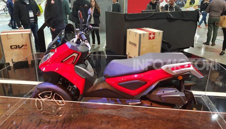 [VIDEO] Quadro diventa Qooder: il re degli scooter elettrici ad EICMA 2019 - Foto 6 di 10